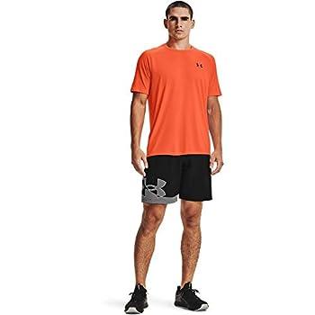 Under Armour Men s Tech 2.0 Short-Sleeve T-Shirt  Blaze Orange  825 /Black Large