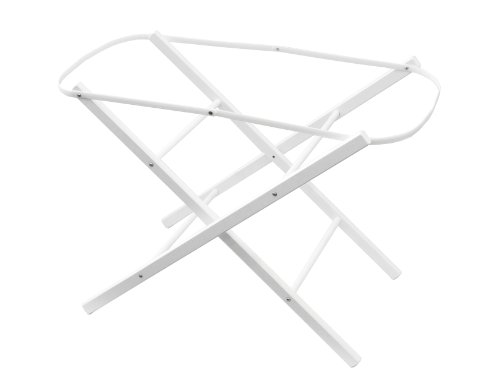 Shnuggle Moisés Basket - Soporte plegable para cesta, color blanco