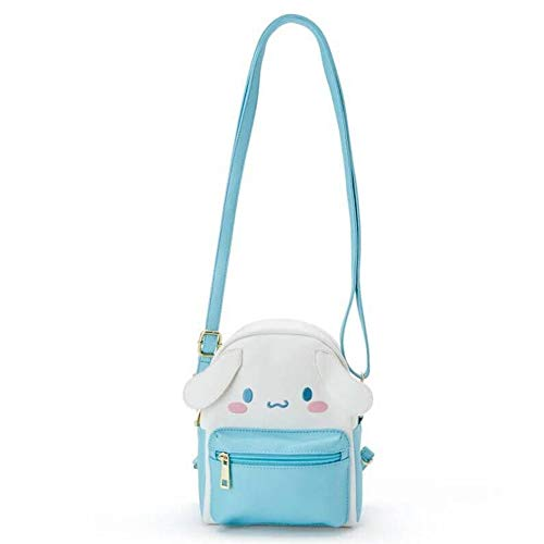 Kuromi Bag,My Melody Hello Kitty Cinnamoroll PomPomPurin Cute Cartoon Shoulder Bag Anime Cosplay Doll Handbag for Girls Fans (C)