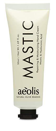 AEOLIS Skincare   MASTIC Repair Hand Balm   Mastix und Hyaluronsäure Handcreme   Repariert trockene Hände   100% natürlich & vegan   Ohne künstliche Zusätze