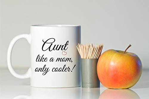 Thee mok, tante als een moeder alleen koeler mok cadeau voor tante tante tante cadeau verjaardag voor tante tante tante tante tante tante tante Cup tante mok kerst tante gift slechts een mok