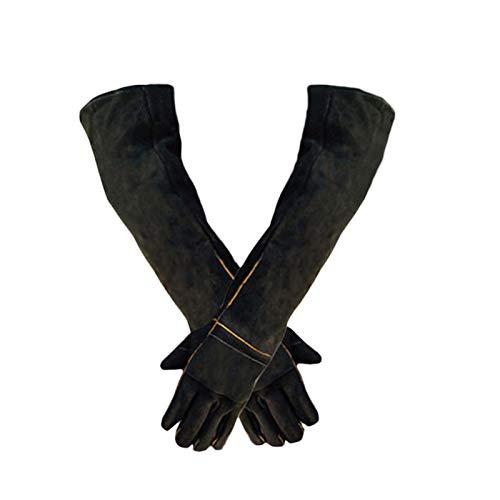 Supertop Animal Handling Handschuhe Bissfest, langlebig Bissfeste Handschuhe zum Baden, Putzen, Handling von Hund/Katze/Vogel/Schlange/Papagei/Eidechse/Reptil - Kratzer/Bissfeste