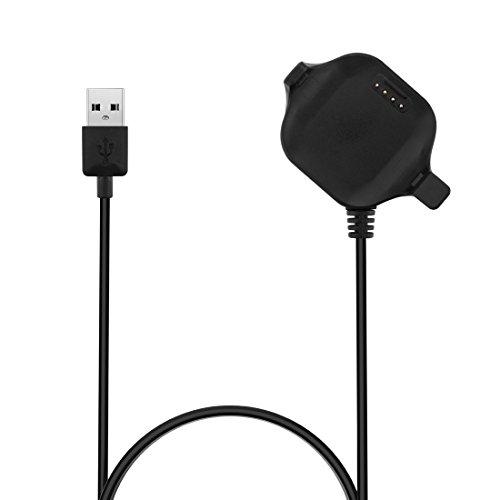 Garmin Forerunner 25 USB Charging Cable Dock, LOKEKE Replacement USB Charger Charging Cable Dock for Garmin Forerunner 25 Small GPS Running Watch