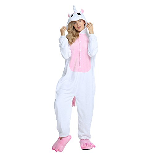 Pyjama Licorne Enfant Onesies Combinaison Animaux Pyjamas Femme Homme Animé Animal Costume Cosplay...