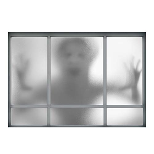 Joyibay Halloween Wandaufkleber 3D Fake Fenster Scary Ghost Wall Decal Wall Decor Sticker