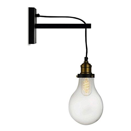 Good thing Applique Lampe murale rétro Lampadaire de salle de séjour Salon de cuisine Lampe de balcon européenne Lampe témoin de lumière nostalgique