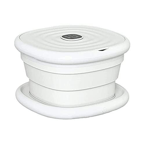 SHUILV Masajeador de baño de SPA for pie con Rodillos de Calor y Masaje, SPA de baño de pie con vibración, Limpieza de pies y Alivio