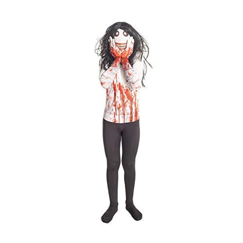 Morphsuits - Déguisement Jeff le tueur enfants 136- 152 cm- Taille L