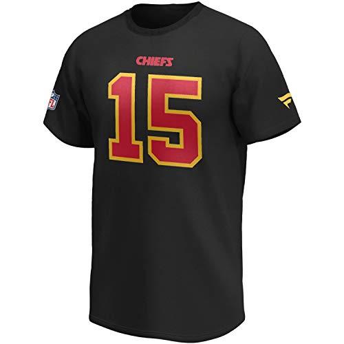 Kansas City Chiefs #15 Patrick Mahomes Shirt schwarz - M