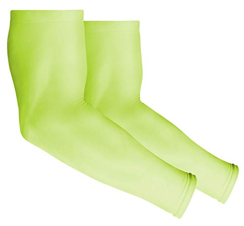UV Sun Protection Arm Sleeves for Men & Women - UPF 50 Sports Compression Cooling Sleeve - Skin Cancer Foundation Recommended
