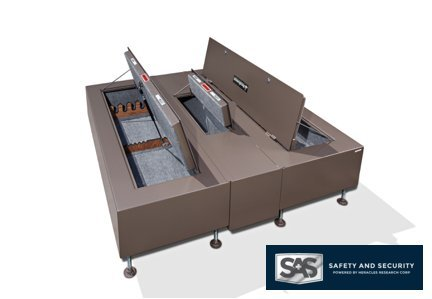 Safety and Security King BedBunker (King, Standard Doors with Center Safe)