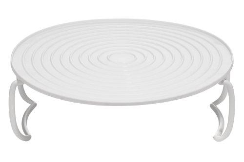 Premier Housewares Folding Microwave Plate - White