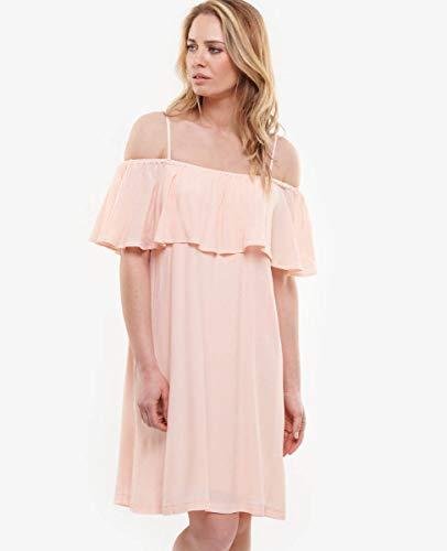 Le Temps des Cerises - Vestido cubano, color rosa Summer Blush XS
