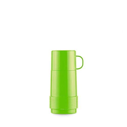 Valira Colección 1969 - Botella de vidrio aislante de doble pared con vacío de 0,25 L hecha en España, color verde, Reus Fun