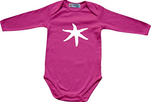 Shirtinstyle Manches Longues Body Bébé Drôle Animaux Mer Zoo, Wildniss - rose, 62/68