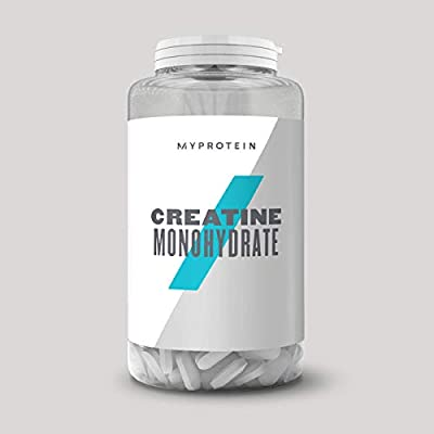 MY PROTEIN Creatine Monohydrate Unflavoured Creatine, 250 Tablets