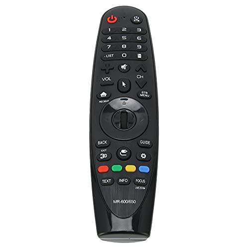 Sorandy Control Remoto de TV, Control Remoto de televisión de 10 m de Alcance, Controlador de TV de Repuesto para AN ‑ MR600 AN ‑ MR650 42LF652V 49UH619V 55UF8507 32LJ600U 55UF7700Y ‑ TA