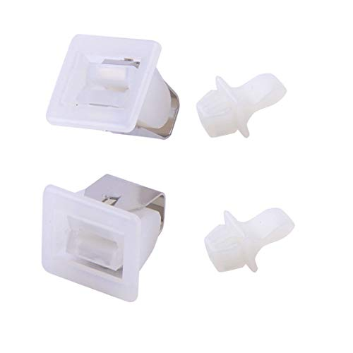Podoy Dryer Door Latch Kit for Compatible with Whirlpool Kenmore Dryer 279570 (Pack of 2)