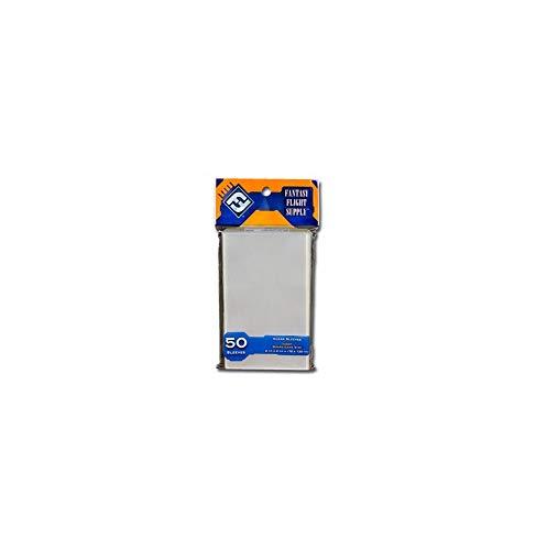 Fantasy Flight Games 50x Clear Tarot Sized Card Sleeves 70x120mm FFG Orange Label FFS66