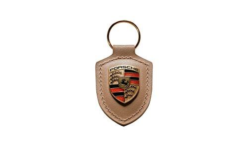 Original Porsche Design Schlüsselanhänger Wappen WAP0500980H ** Beige