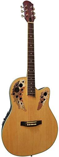 Guitare Électro-Acoustique Type Ovation Nature ~ Neuve & Garantie