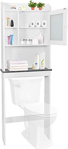 SUPER DEAL New Version Over-The-Toilet Bathroom Storage Cabinet...