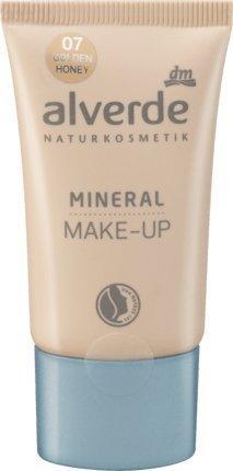 alverde NATURKOSMETIK vegan Mineral Make-up golden honey 07, 30 ml