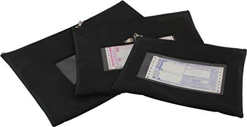 鍵付き 社内メール ハイパロンメールバッグ ファスナーキーロック A3 B4 A4対応(A4サイズ)