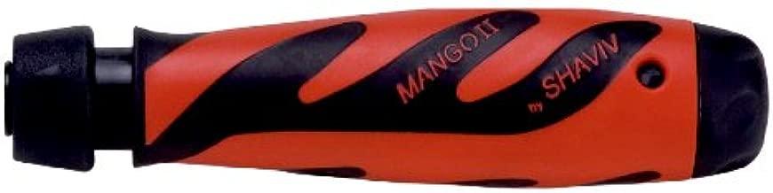 SHAVIV Entgraterset Mango II Handgriff Mango II Safety-Lock mit 10 Klingen E 100