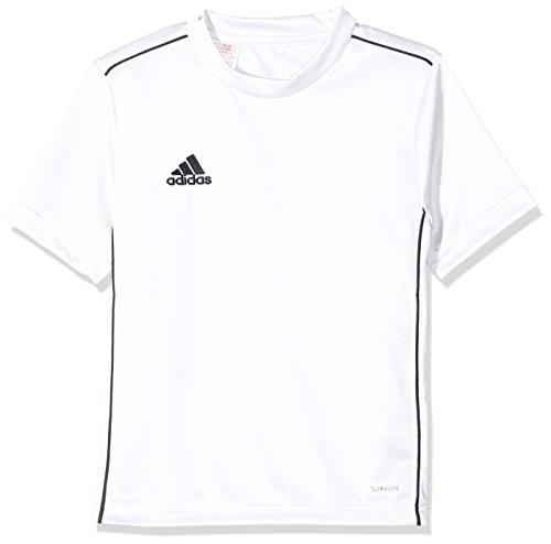 adidas Kinder CORE18 Y Jersey, Weiß (white/schwarz), 164