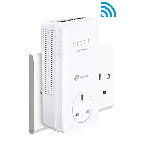 TP-LINK TL-WPA8630P adattatore di rete powerline 1300 Mbit s Collegamento ethernet LAN Wi-Fi Bianco 1 pezzo(i)