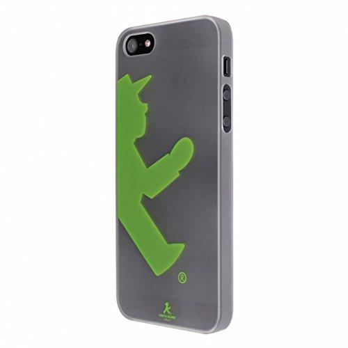 Preisvergleich Produktbild Artwizz Rubber Clip Handyhülle Designed für [iPhone SE / 5S / 5] - Schlanke Schutzhülle mit Soft-Touch-Beschichtung & Grip - Grün