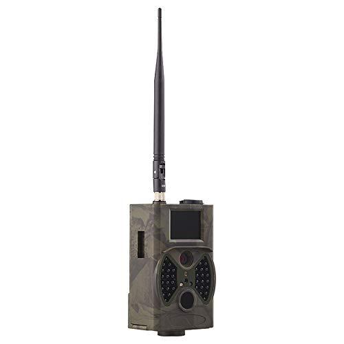 Camera de Sendero Visión Nocturna 16MP 1080P Cámara de Juego Cámara de Caza al Aire Libre Cámara activada por Movimiento con 2'LCD y IP65 Batería Impermeable Impermeable