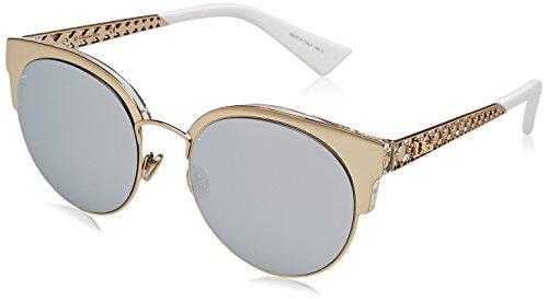 Dior DIORAMAMINI DC J5G Gafas de Sol, Dorado (Gold/Extra White Marl), 50 para Mujer