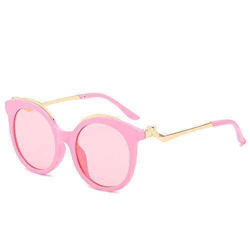 QINGZHOU Gafas De Sol,Vidrios Redondos Del Marco De Las Mujeres De Cartier De Moda, Polvo Del Marco Del Polvo