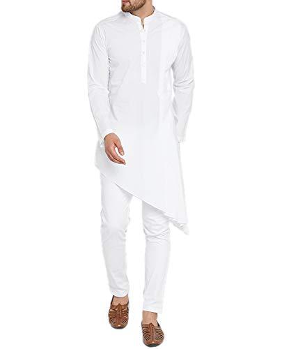 WINTAGE Men's Cotton Silk Festive and Casual Kurta Pajama Pyjama :...