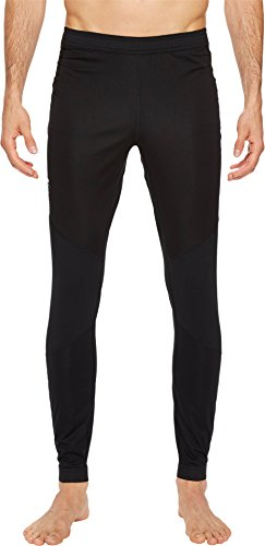 Columbia Homme Titane Wind Pantalon Collant Bloc de Course, Homme, AO0077, Noir, XXL (Regular Version)