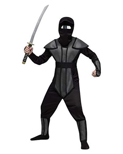 Horror-Shop Ninja reflector Kinderkostüm M