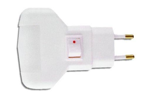 GSC nachtlampje met schakelaar, 1,5 W, 1300034, wit, 0