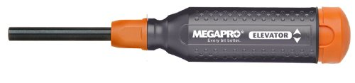 Megapro 151ELEV-CH/OR-C Alloy Hex Elevator Multi Bit 15 in 1 Screwdriver, Steel