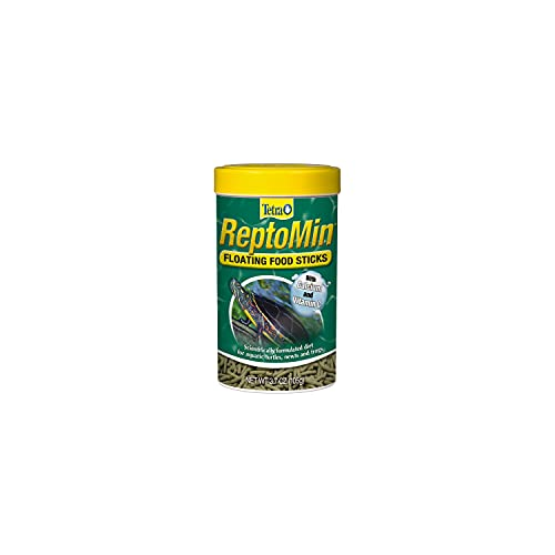 Tetra 29254 ReptoMin Floating Food Sticks, 3.7-Ounce