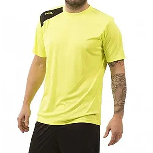 No Fabricante Softee T-Shirt pour Enfant Jaune Fluo, Garçon, Jaune Fluo, 6