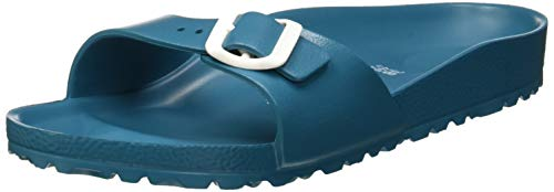 Birkenstock Madrid, Ciabatte Donna, Turchese (Turquoise Turquoise), 39 EU