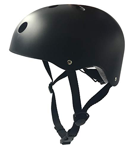 IMPORX Casco da Skate-Resistenza agli Urti Casco Sicuro con Ventilazione per Ciclismo/Skateboard/Scooter/Roller/Longboard/Rollerblade/Bici elettrica (L)