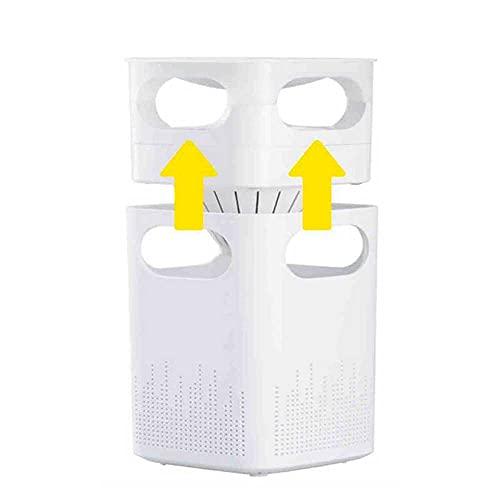 Mimacro Lampara Antimosquitos Eléctrico Conexión USB Mosquito Killer Lámpara con Luz UV LED, Apto para Moscas y Mosquitos e Exterior y Interior, 5W/5V Blanco