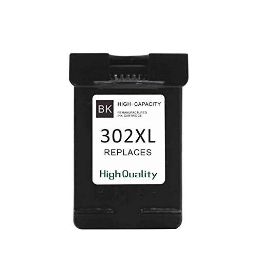 Cartucho compatible para HP 302 XL negro impresora Deskjet 3830 3832 4650 1110