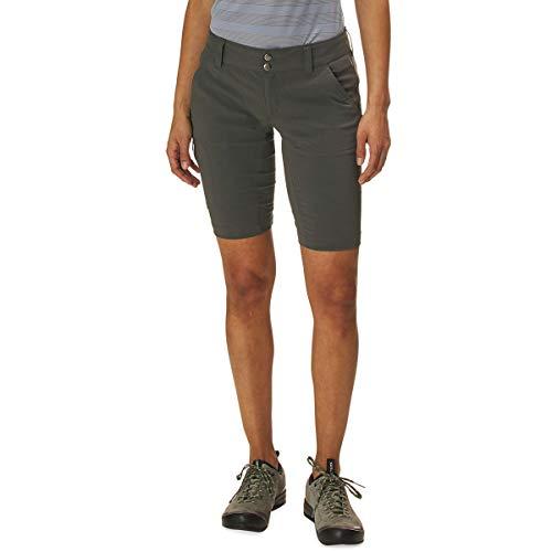Columbia Women's Standard Saturday Trail Long Short, Grill, 2x12