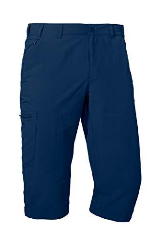 Schöffel Pants Springdale1, vielseitige 3/4 Wanderhose mit elastischem Bund, komfortable Outdoor Hose mit separatem Gürtel Herren, dress blue, 54