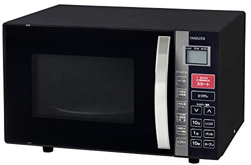 [山善] オーブンレンジ 16L ターンテーブル ブラック KRC-160VEB(B) [メーカー保証1年]