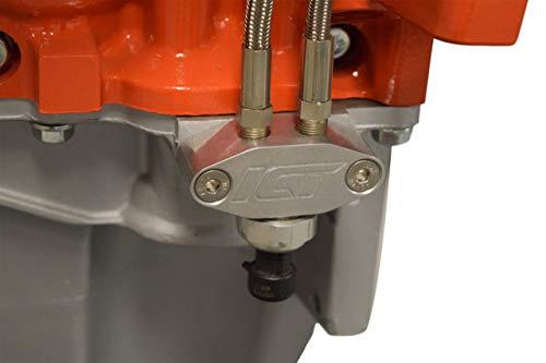 ICT Billet Oil Pan Pressure Sensor Adapter Port Dual 1/8' npt - LS Truck - M16-1.5 Sending Unit 551541